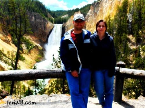 Yellowstone National Park Grand Canyon of the Yellowstone Matt Bickett Jeri Walker-Bickett