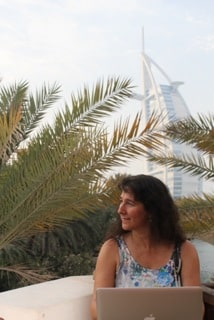 Anne O'Connell in Dubai