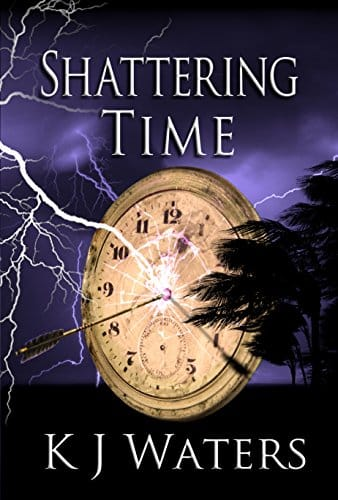 Cover of Shattering Time by KJ Waters