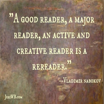 thesis of good readers and good writers by vladimir nabokov