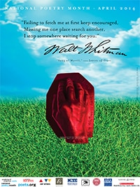Poster for National Poetry Month 2014