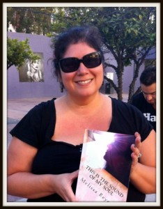 Picture of Melissa Reyes with Book