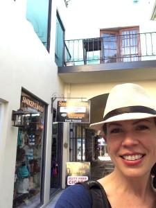 Christa Wojciechowski in Hat
