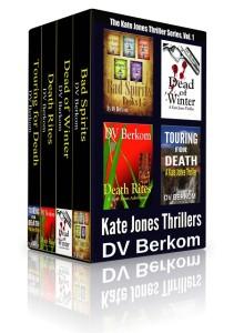 DV Berkom Kate Jones Thriller Box Set Book Covers