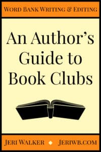 Cover image of an Author's Guide to Book Clubs
